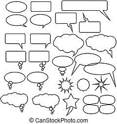 idéia, pensamentos