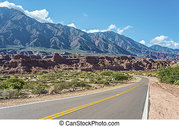Quebrada de las Conchas, Salta, northern Argentina - The...