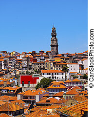 Clerigos Tower in Porto - Torre dos Clerigos - Clerigos...