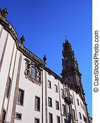 Clerigos Church in Porto - Igreja dos Clerigos - Clerigos...