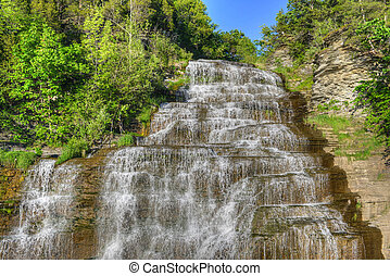 Hector Falls, Finger Lakes, NY - Hector falls in New York...