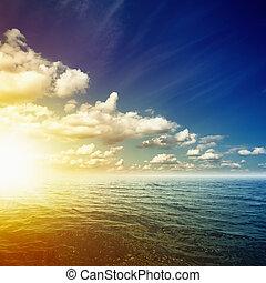 Beautiful sunrise