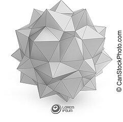 3D vector illustration