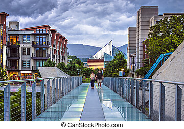Chattanooga Tennessee - Chattanooga, Tennessee, USA downtown...