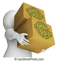 Audited Boxes Mean Company Finances And Accounts Are...