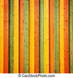 Striped color wood  - Striped wood wall background