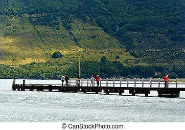 Glenorchy - New Zealand NZ NZL - GLENORCHY, NZ - JAN...