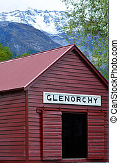 Glenorchy - New Zealand NZ NZL - GLENORCHY, NZ - JAN 13:An...