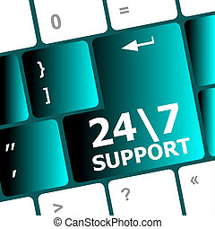 Support sign button on keyboard keys