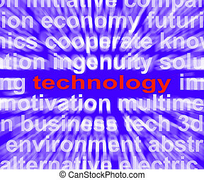 Technology Meaning Technological Developments Advances And...