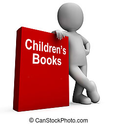 Childrens Book And Character Shows Reading For Kids -...
