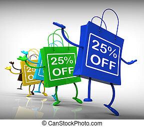 Twenty-five Percent Off Bags Show 25 Discounts