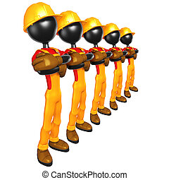 Construction Workers - A Concept And Presentation...
