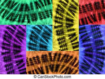 patchwork, tissus, africaine