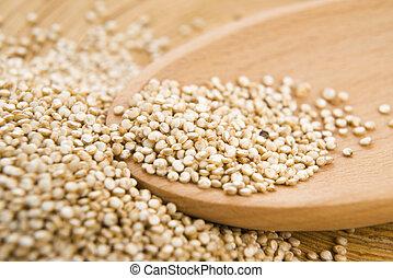 Quinoa, grano