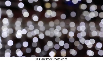 Bokeh city lights