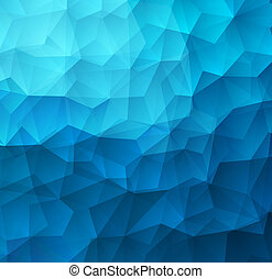 Abstract Triangle Geometrical Colorful Background - Abstract...