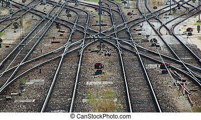 Railroad Double Switch
