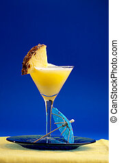 Pina Colada - A refreshing summer drunk - pina colada over a...