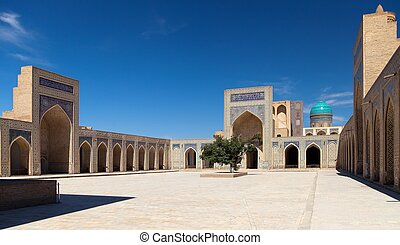 View of Kalon mosque - Bukhara - Uzbekistan