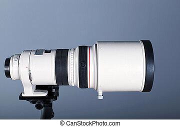 Telephoto camera lens