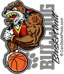 bulldog basketball player