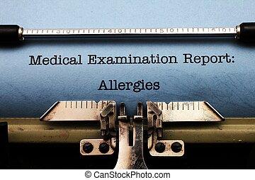 allergiák