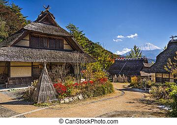 Iyashi No Sato Village - Japant at Iyashi No Sato Village...