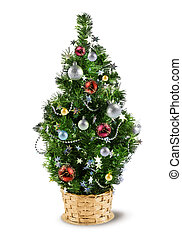 Christmas decoration tree - Christmas miniature decoration...