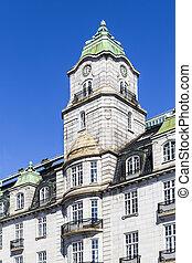 建物, オスロ, 歴史的, 中心