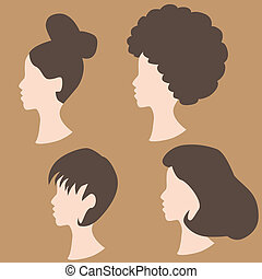 Wig Hairstyles - An image of wig hairstyles