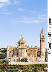 Ta' Pinu church near Gharb in Gozo, Malta - The National...