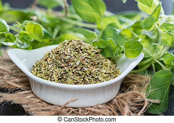 Shredded Oregano - Heap of Shredded Oregano high resolution...