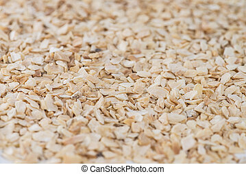 Rubbed Garlic (background image) - Rubbed Garlic as full...