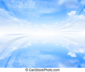 Skycape abstract background - Futuristic motivational...