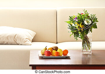 living room still life