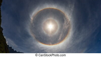 Epic 4k phenomenon, 22 degree halo, - this so called 22...