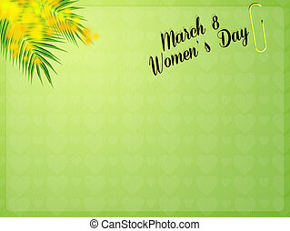 mimosa for womens day -  8 march, womens day