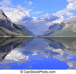 Minnewanka Lake Banff National Park Alberta