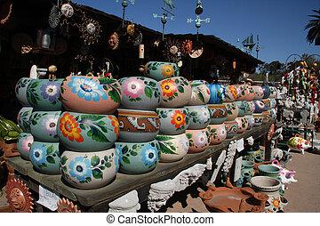 Clay Pots - Colorful Clay Pots