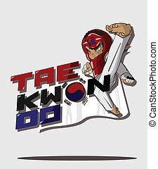 taekwondo martial art