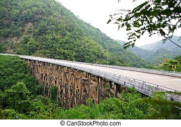 Road bridge.