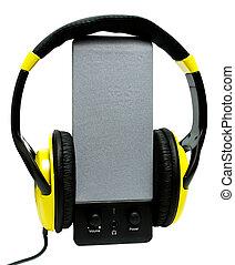 Speaker headphones