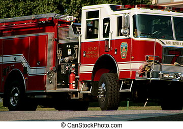 fire engine - red fire engine