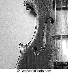 black white violin it soft feeling