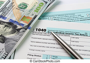 Income Tax filing - Filling out income tax forms with US...