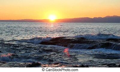 Sunset from Enoshima island