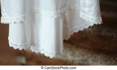 Bottom wedding dress - Bottom hanging wedding dress