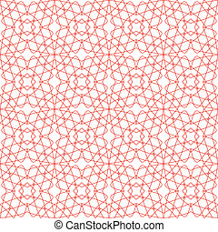 Vector Seamless Guilloche Background - Vector Seamless...