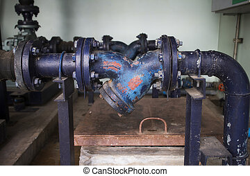 Mechanical water pump